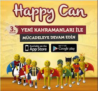 Happy Can Uygulama