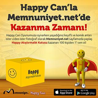 Happy Can'la Memnuniyet'de Kazanma Zamanı